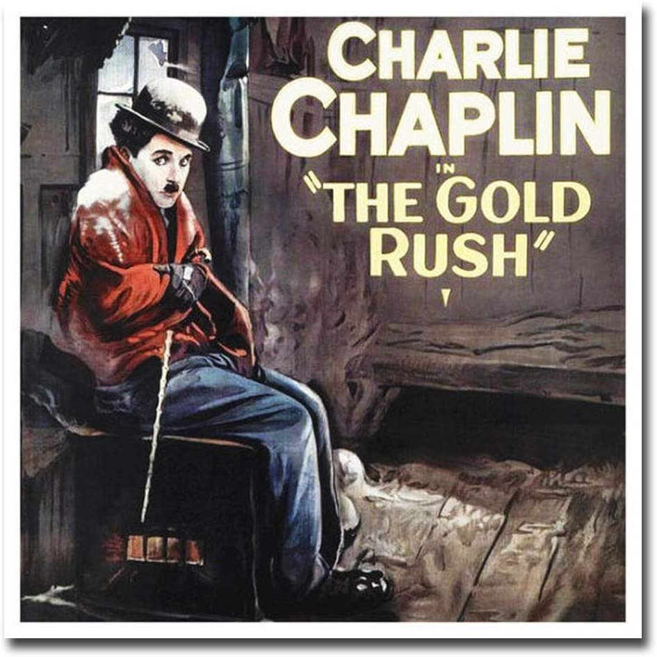 The Gold Rush Charlie Chaplin movie poster 24x36 inches 1925