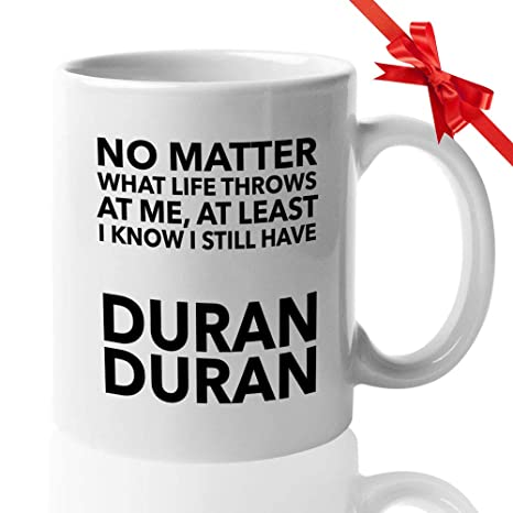 Christmas I Love Duran Duran Gift Tea Mug Cup Coffee Birthday
