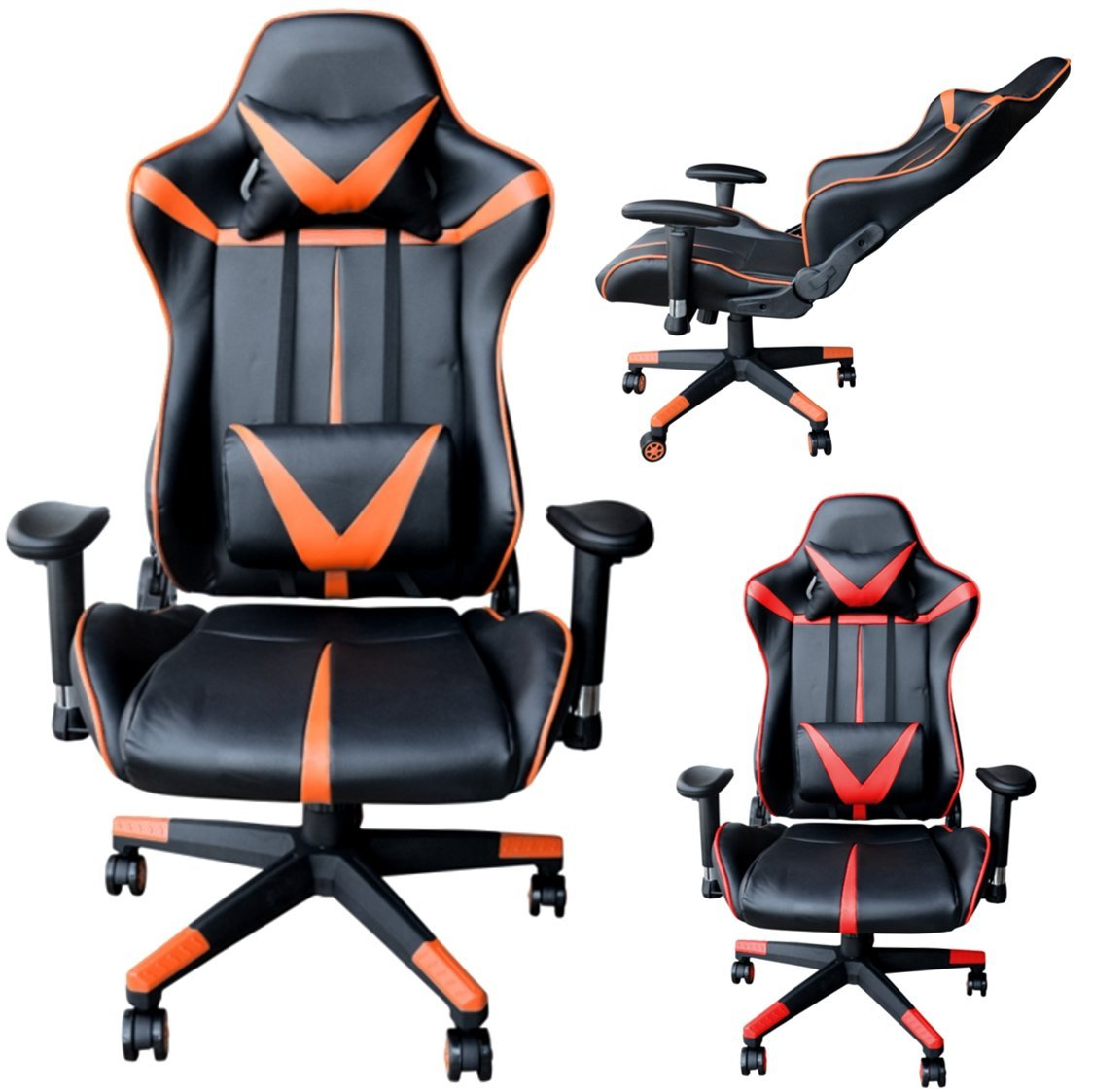 Polironeshop B-N Estoril Silla sillón para Gaming Racing ...