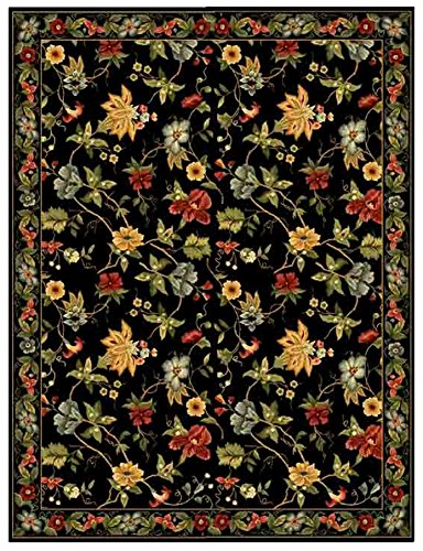 Safavieh Chelsea Collection HK311A Hand-Hooked Black Premium Wool Area Rug (2'6