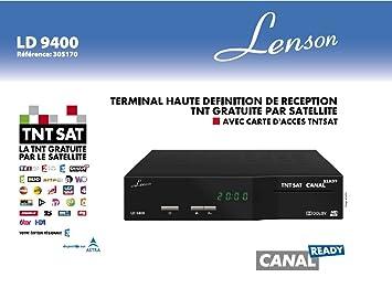 3 AÑOS DE GARANTÍA - Lenson LD9400 Decodificador receptor ...