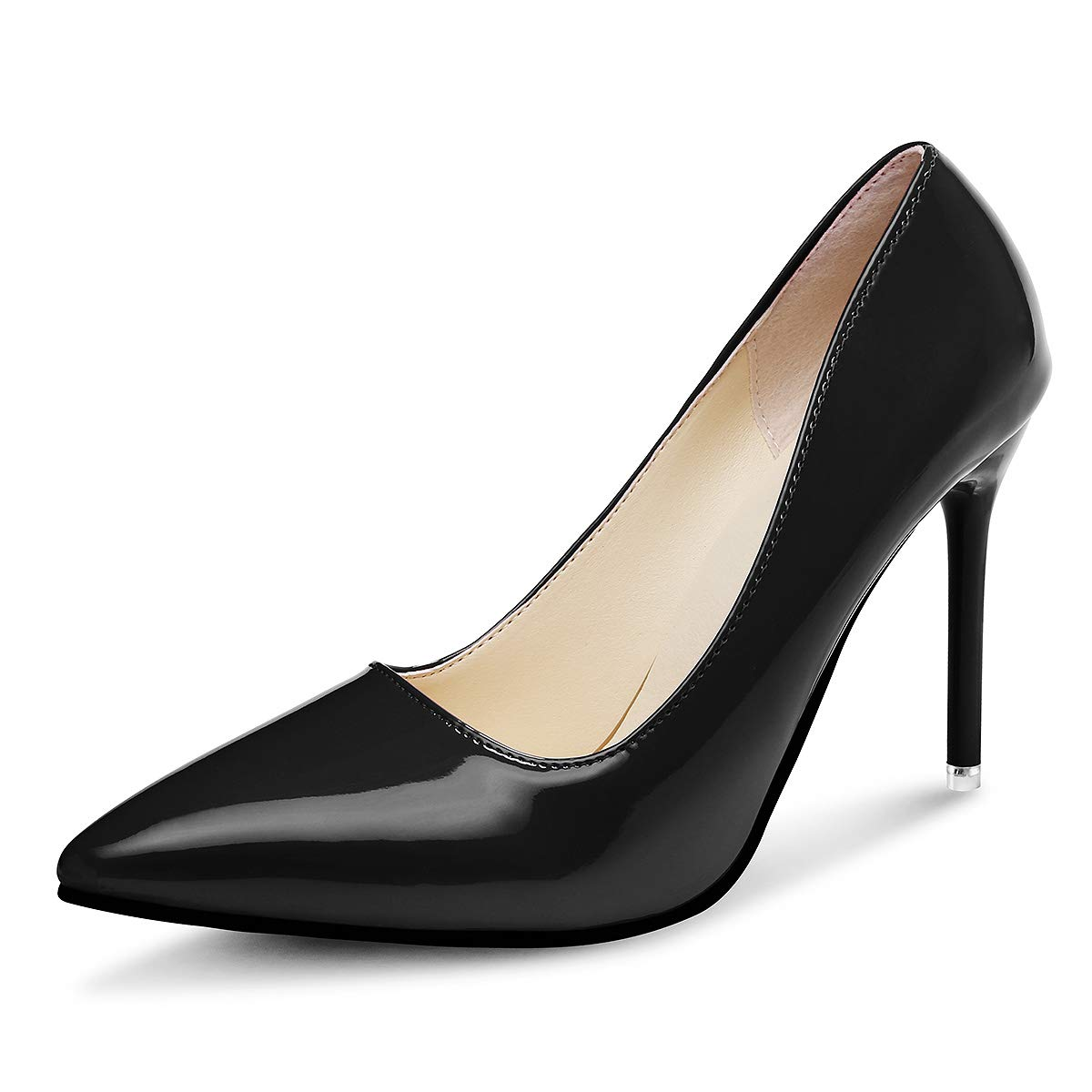 Kivors Zapatos De Tacón para Mujer, Tacones de Mujer de Moda de Mujer Colores Mezclados Salvajes Zapatos De Tacon Alto Elegante Fiesta Y Boda Noche para Mujer