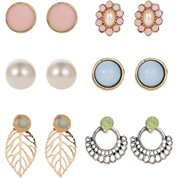 Lantusi Women Fashion Beautiful Earrings Jewelry Trendy Charm Wedding Gift Drop & Dangle