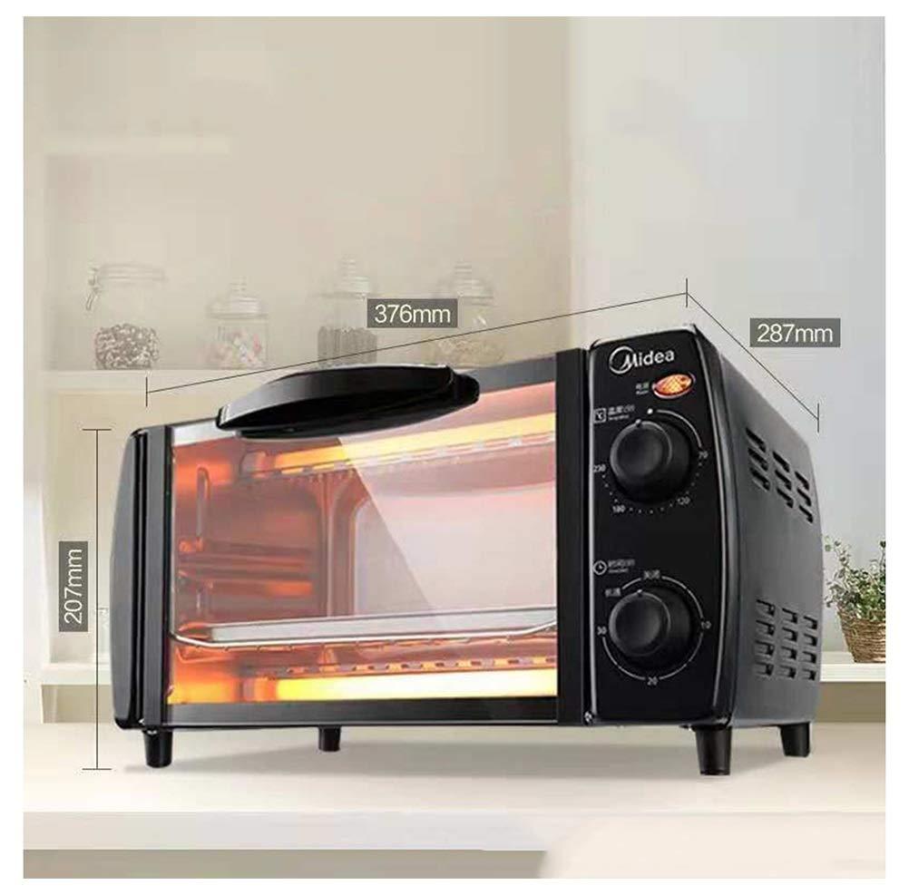 ZCYX オーブンホーム多機能ベーキング10リットルミニ電気オーブン -7487 オーブン B07RR139HB