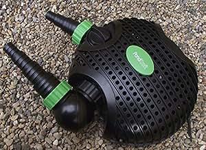 PondKraft Eco Dual Pond Filter Pump 6500 litres per hour