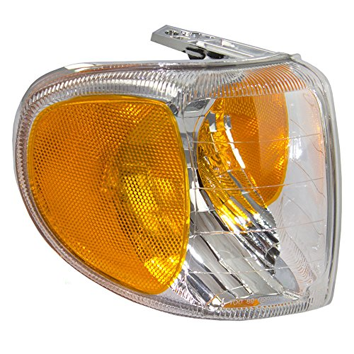 (Passengers Park Signal Corner Marker Light Lamp Lens Replacement for Mercury SUV F87Z13200AB)