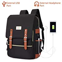 EUATEO Laptop Backpack Business Laptop, Laptop Travel Bag Ligera y Durable Laptop Backpack Hombres y Mujeres Casual Backpack, Universidad y Niños, Multicolor 15.6""