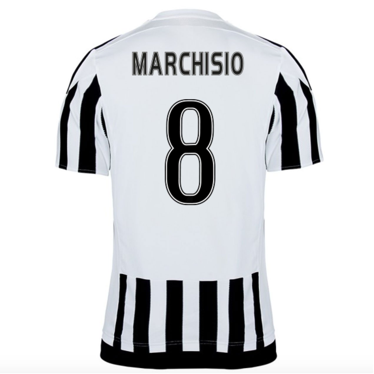 2015-16 Juventus Home Shirt (Marchisio 8) Kids B077VLZB5DWhite XL Boys 32-34\