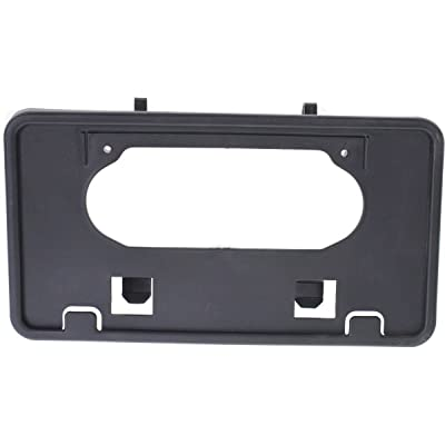 New for 2009-2014 Ford F150 Truck Front Bumper License Plate Bracket Holder Plastic Black FO1068134 9L3Z17A385A: Automotive [5Bkhe0404612]