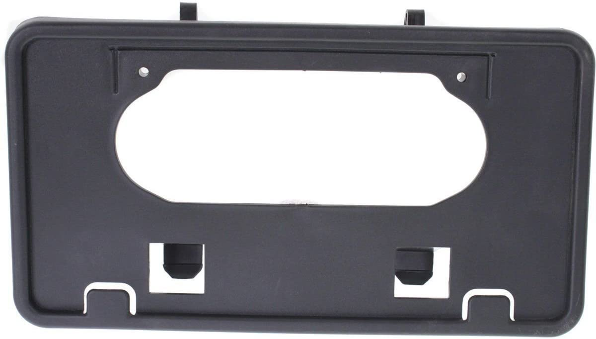 New for 2009-2014 Ford F150 Truck Front Bumper License Plate Bracket Holder Plastic Black FO1068134 9L3Z17A385A