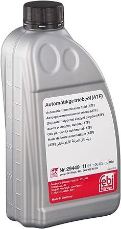 Febi Bilstein 29449 Automatikgetriebeöl Atf 1 Liter Auto