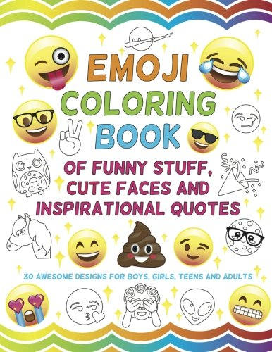 Emoji Coloring Book of Funny Stuff