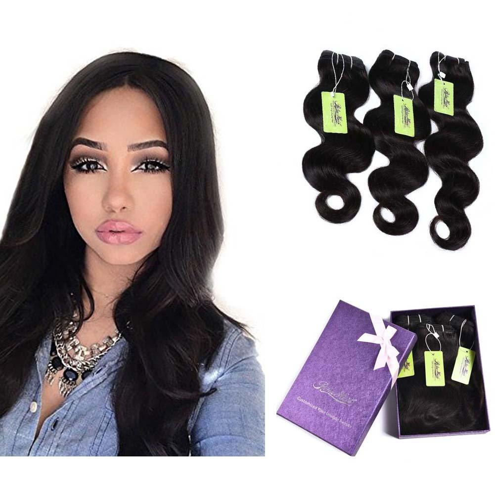 Best Hair Extensions Indian Virgin Human Hair Bundles Body Wave
