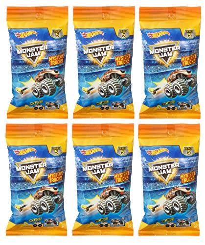 Hot Wheels Monster Jam Minis Truck Mystery Series 5 (6 Packs)