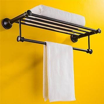 alger serviette de bain rack noir en acier inoxydable porte serviettes salle de bain pendentif