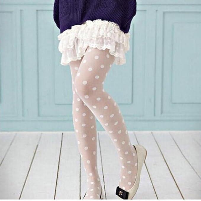 ... Transparente para Mujeres Grandes Medias de Puntos Medias calcetín Socks Dot Medias de Jacquard Ultra Delgadas Pantimedias: Amazon.es: Ropa y accesorios