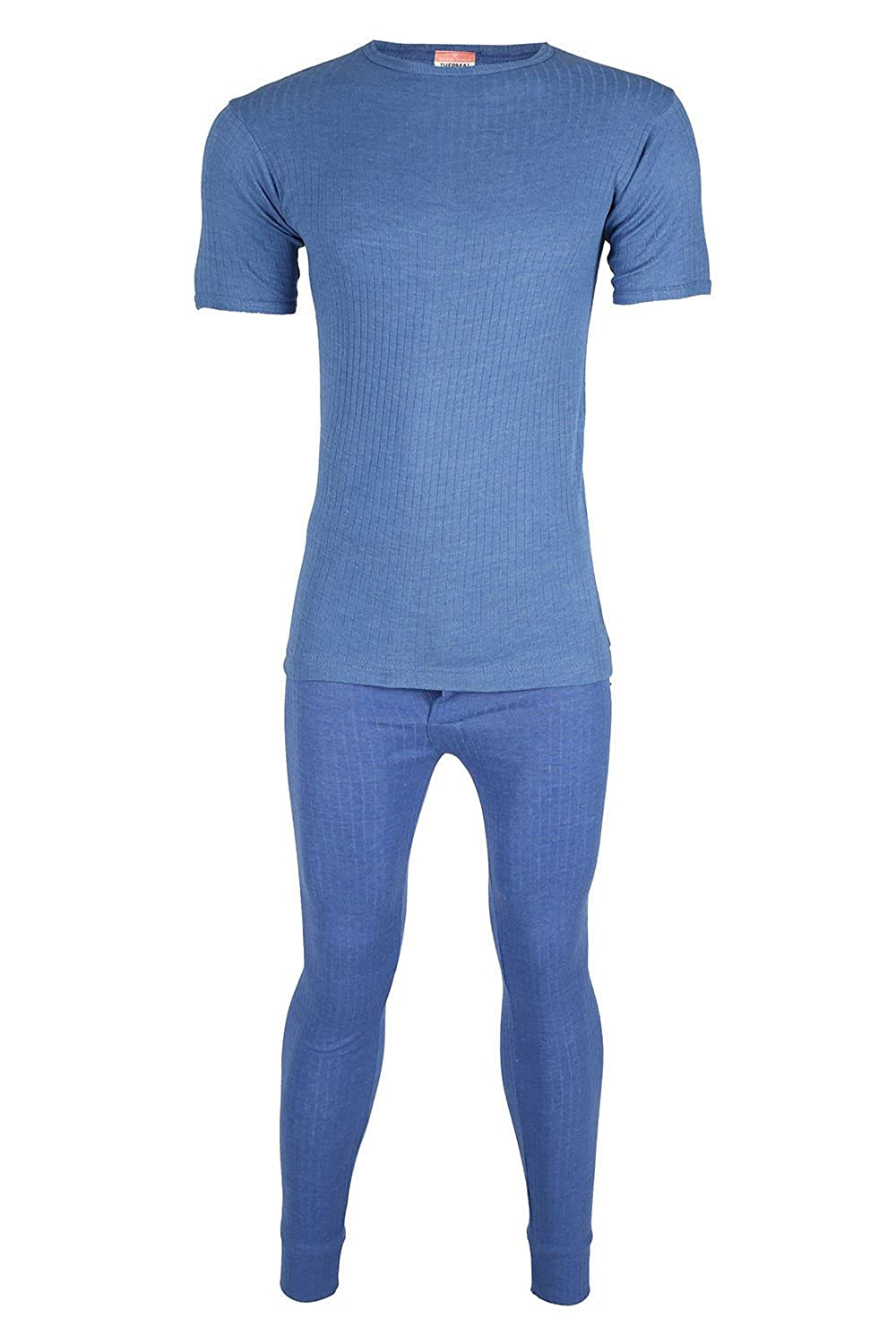 HIGH LIVING ® Mens Heat Control Thermal Long Sleeve T-Shirts & Long John Set Winter Underwear