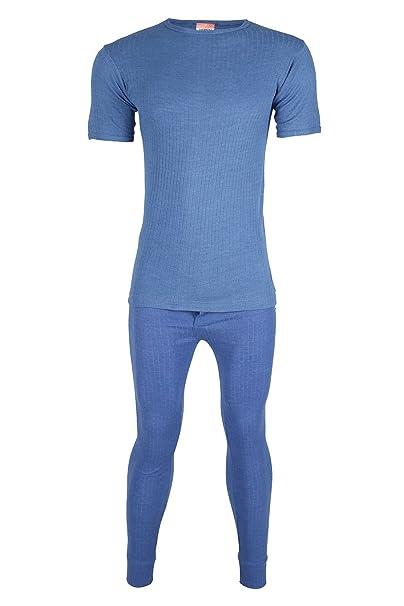 GAFFER  Mens Thermal Bottoms Blue XXL