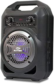 Caixa de Som Bluetooth, SUMAY, Gallon Music 5150, Cinza