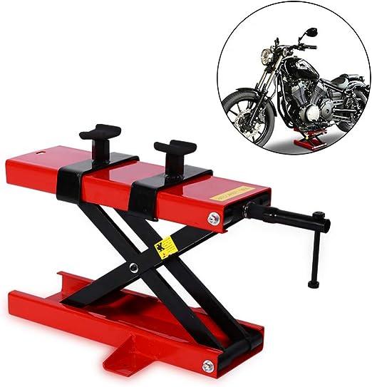 Mesa elevadora para motocicleta, soporte ajustable para bicicleta ...