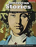 american story volume 1 - American Stories: A History of the United States, Vol 1, Black & White (3rd Edition)