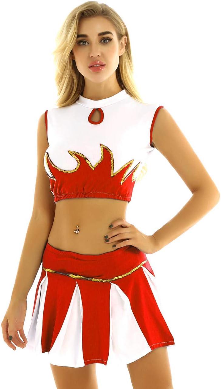 Lenceria de cueroMujeres Adultos Gleeing Cheerleader Colegiala ...
