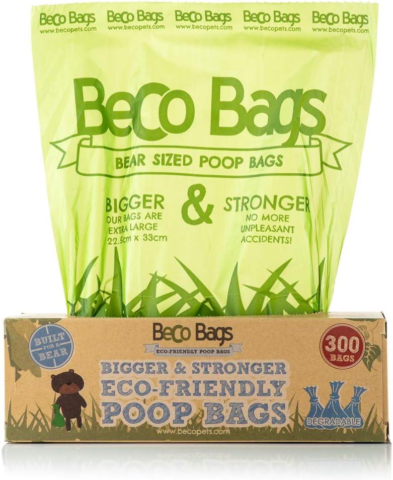 Bolsas ecológicas Beco Things para heces de Perro: Amazon.es ...