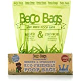 Beco Bags - 300 Large Unscented Poop Bags For Dogs