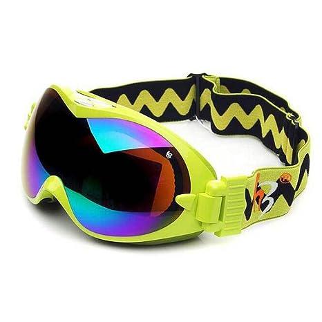 Occhiali da motociclista da sci all'aperto Occhiali da nebbia da denti Groove Doppio ponte Occhiali da vista Occhiali sferici , C , w3