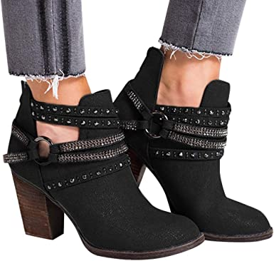 free delivery uk availability authorized site Amazon.com: Dainzuy Women's Wide Calf Rhinestone Cross Buckle ...