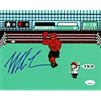 $69 » Mike Tyson Autographed 8x10 Photo Punch-Out JSA Stock #142986