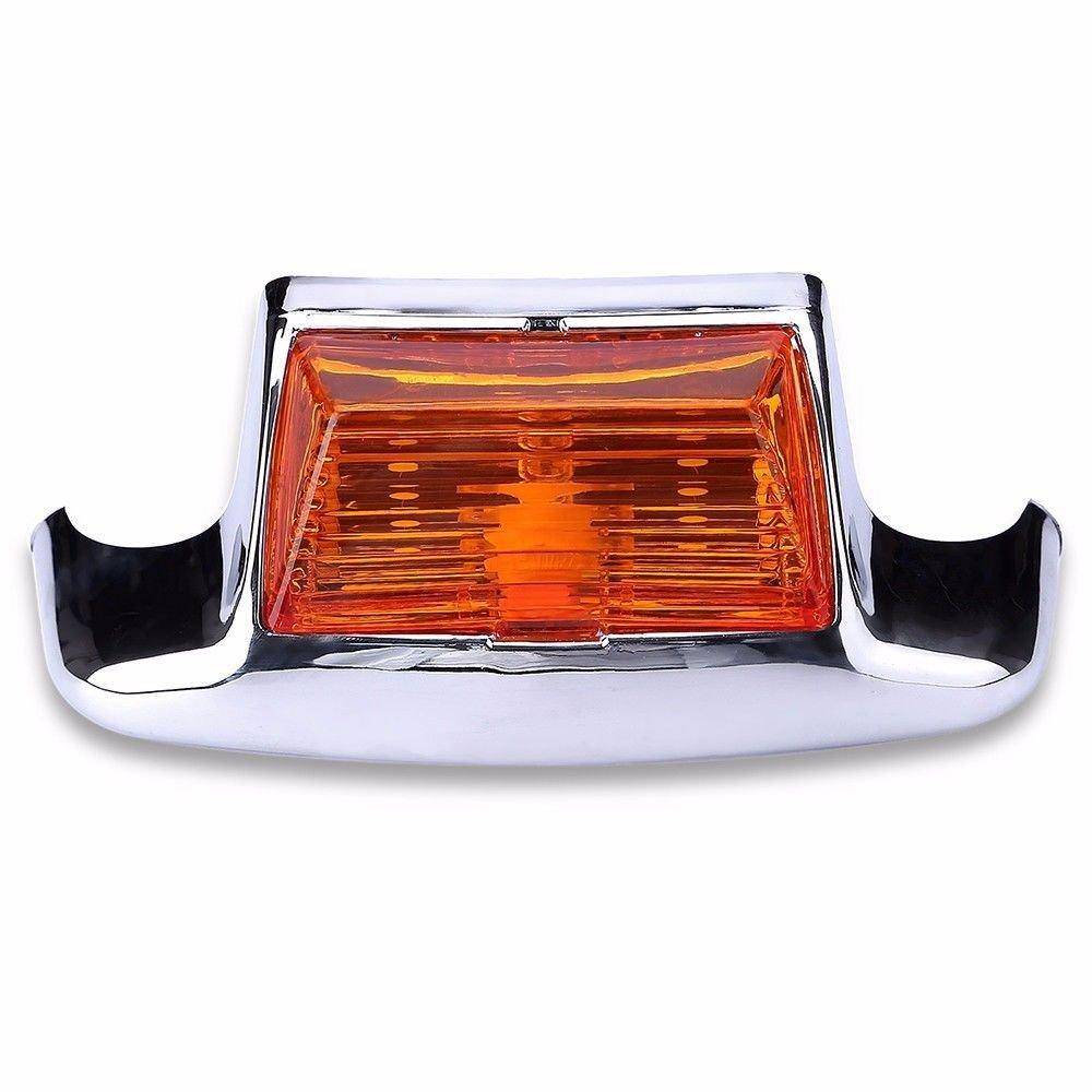Red Motorcycle Rear Fender Tip Light for Harley Road King FLHT FLT FLHS Classic FLHTC FLHR FLSTC
