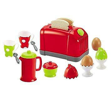1118 Spielzeug Toaster mit Zubehör - für Kinder Spielküche ...