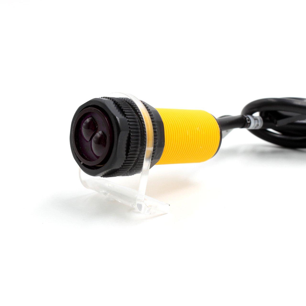 Smart Car//Robot Sensore di evitamento ostacoli a infrarossi 3-80 cm//Kit staffa interruttore fotoelettrico regolabile LDTR-WG0077 Scheda di sviluppo