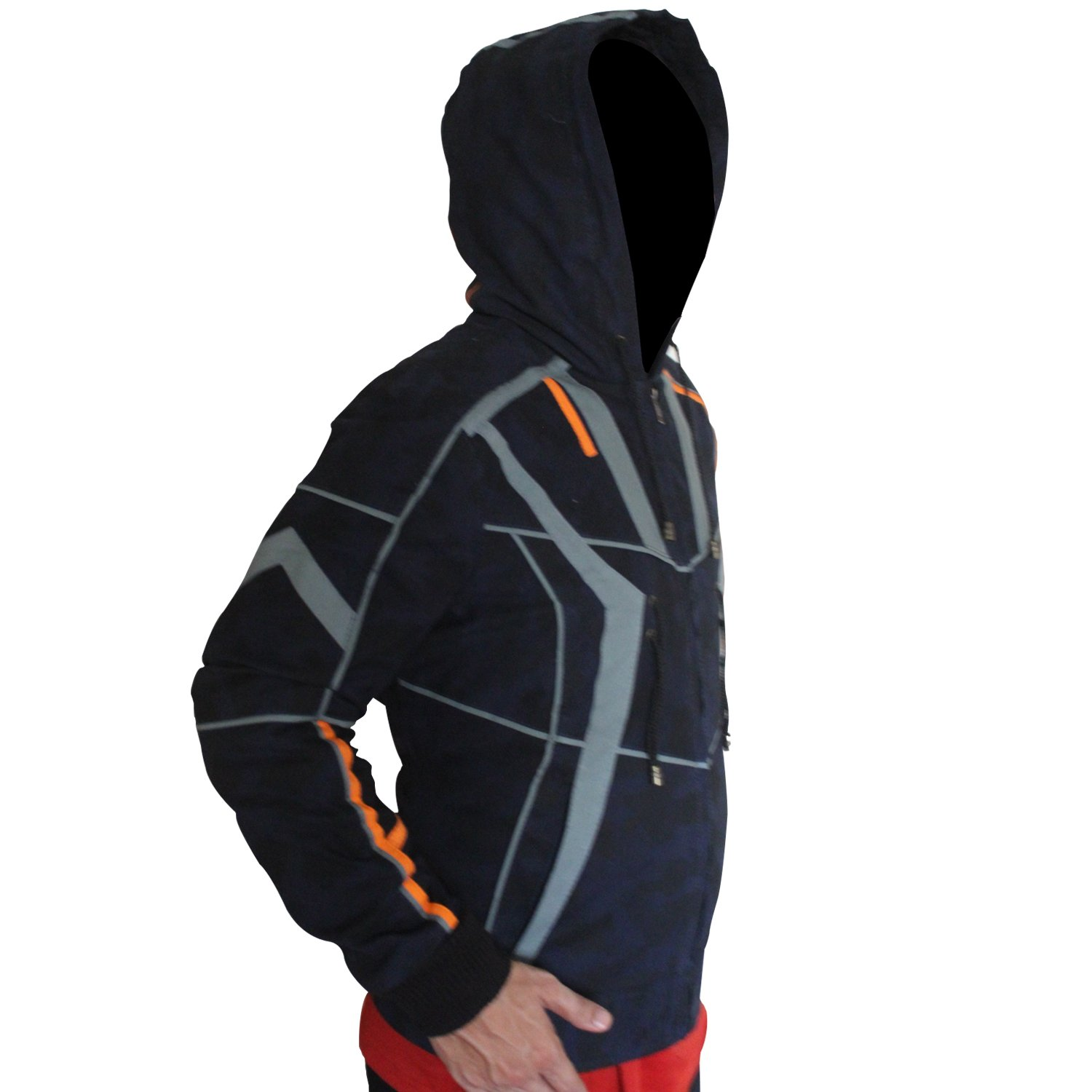 New Cosplay Hoodies Zip Up Jacket