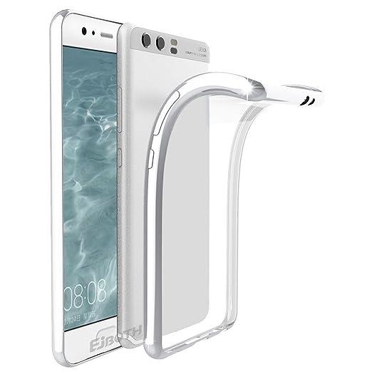 11 opinioni per Huawei P10 Plus Custodia Protettivo, EJBOTH TPU Copertura morbido Caso Cristallo
