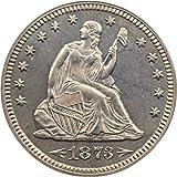 1873 P Seated Quarters (Proof) Arrows Quarter PR64 PCGS