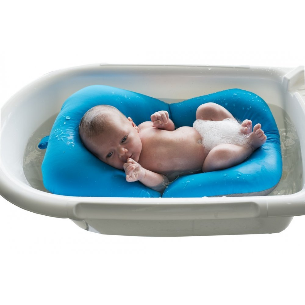 Amazon.com : Simply Good Baby Bath Floaty (Blue) : Baby
