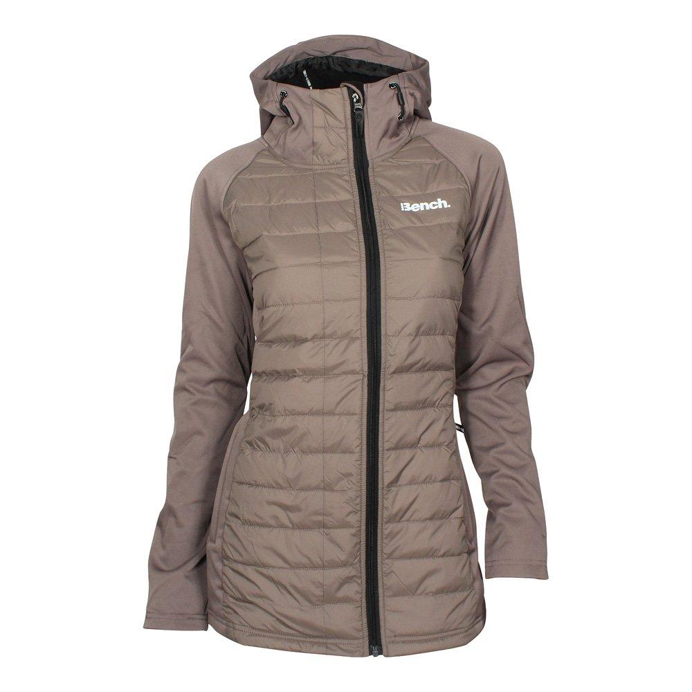 BENCH Mujer Wadded Softshell chaqueta Taupe, Frauen:S: Amazon.es: Ropa y accesorios