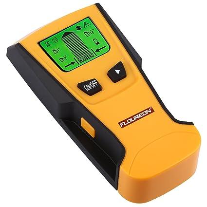 FLOUREON detector de construcción 3 en 1 de metal/inalámbrico de fase y Stud Sensor