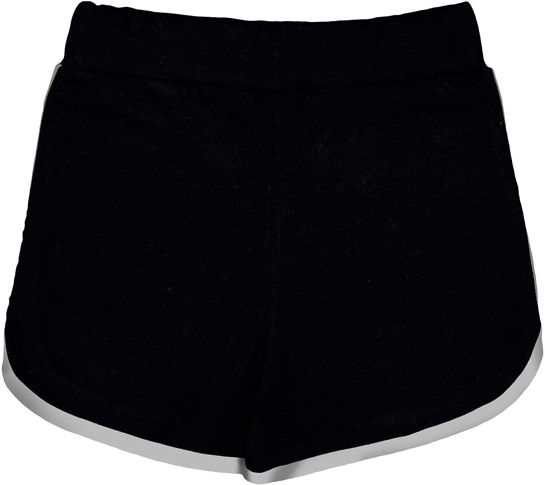 A2Z 4 Kids Kids Girls Shorts 100/% Cotton Gym Dance Sports Trendy Fashion Black Summer Hot Short Running Pants New Age 5 6 7 8 9 10 11 12 13 Years