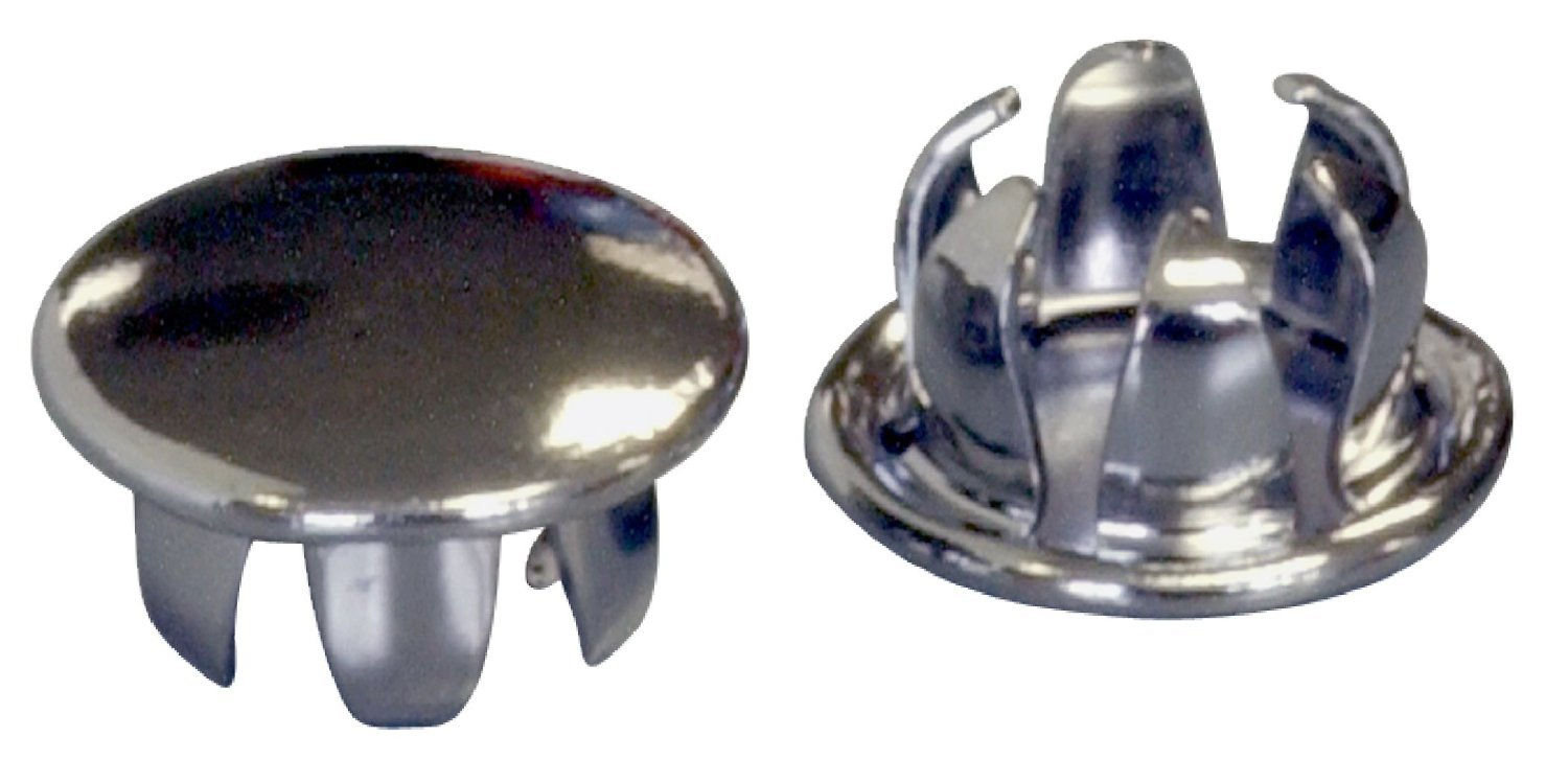 5-Pack The Hillman Group 4088 M6-1.00 Stop Nut