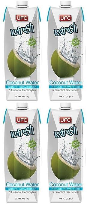 UFC Aguas de Coco - Paquete de 6 x 1000 ml - Total: 6000 ml: Amazon.es: Alimentación y bebidas