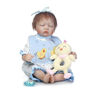 JHGFRT Rebirth Baby Doll Juguete Recién Nacido Bebé Simulación Chica ...