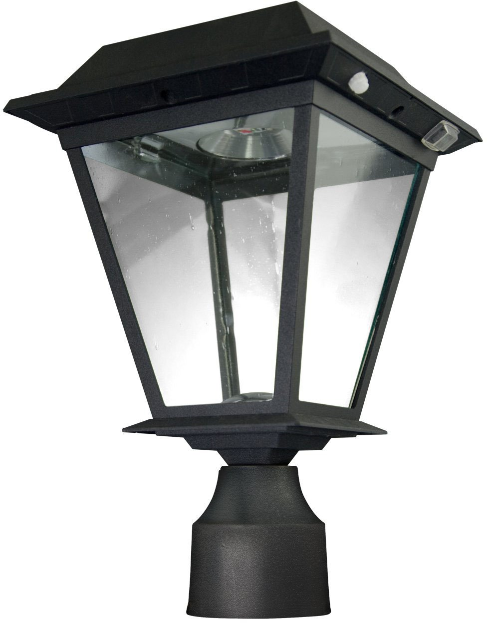 XEPA SPX113 Solar-Powered LED Lantern with Motion Detection Function and 3-Inch Post/ Pole Fitter Mount by XEPA (Image #2)