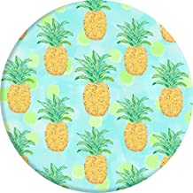 Smart Phone Expanding Stand and Grip, POPPERS Expanding Stand Holder Universal Finger Holder With Anti-fall Phone Air Sac Smartphone Desk Stand Grip (Pineapple Pattern)