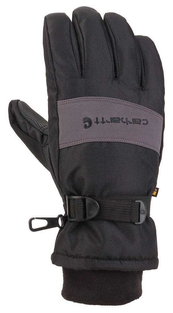 Carhartt Men's W.p. Waterproof Insulated Work Glove, black/Grey, XX-Large by Carhartt