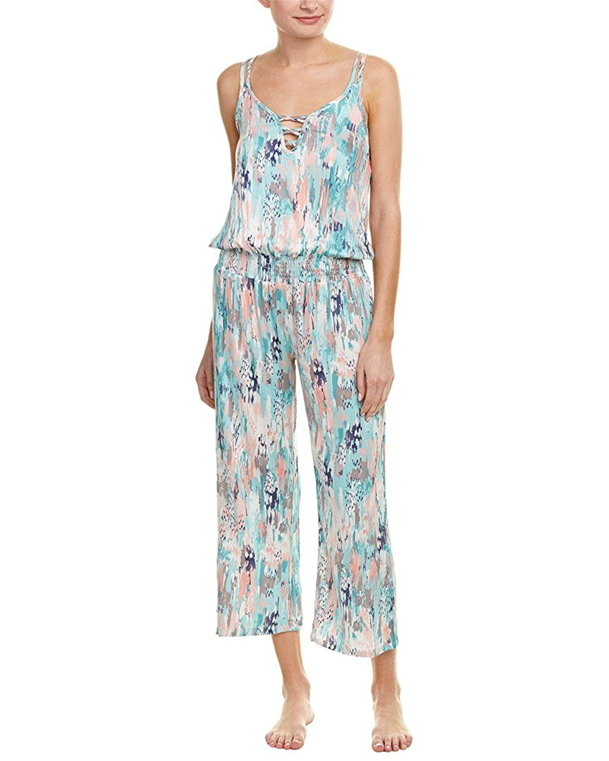 Splendid Women's Slouchy Sleep Long Romper Delta Galil-Women's