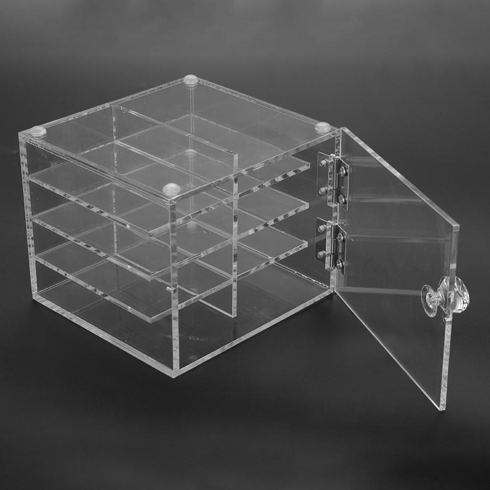 8 Grid Dustproof False Eyelash Storage Box Transparent Acrylic Carry Case Makeup Cosmetic Organizer Tool Yosooo