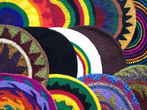 Tam Beret Hat 12 Hand Crochet Slouchy Dread Rasta Reggae 25% Off. Save $42